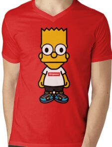 Bart Supreme Mens V-Neck T-Shirt