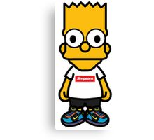 Bart Supreme Canvas Print
