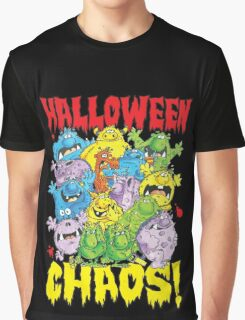 Halloween Chaos! Graphic T-Shirt