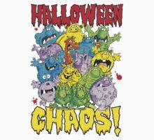 Halloween Chaos! One Piece - Long Sleeve