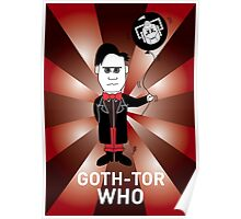GOTH DR WHO! Poster