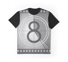 Vintage Countdown Film Graphic T-Shirt