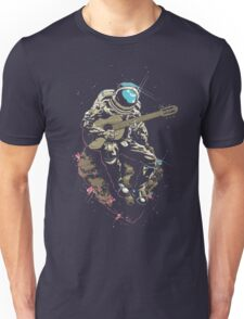 astronaut AND MUSIC Unisex T-Shirt