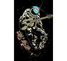 astronaut AND MUSIC Photographic Print