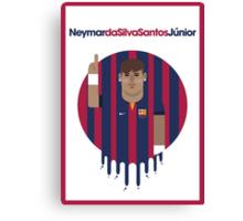 Neymar Jr - Barcelona Canvas Print