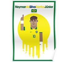 Neymar jr - Brazil Poster
