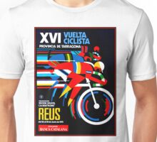 VUELTA CICLISTA; VintageBicycle Racing Advertising Print Unisex T-Shirt