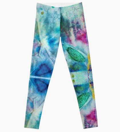 Vibrant Colorful Butterfly Pattern Leggings