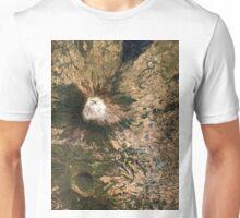San Miguel Volcano El Salvador Satellite Image Unisex T-Shirt