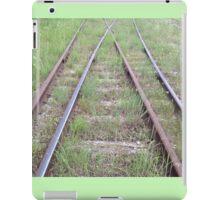 Merging Paths iPad Case/Skin