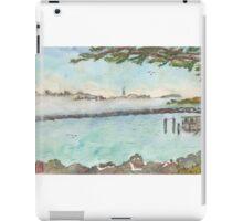 View of Foggy San Francisco  iPad Case/Skin