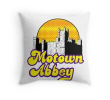 Motown Abbey Throw Pillow