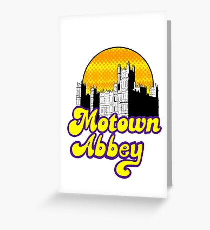 Motown Abbey Greeting Card