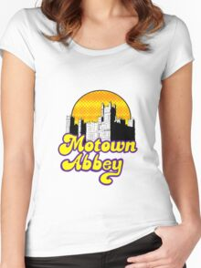 Motown Abbey Women's Fitted Scoop T-Shirt