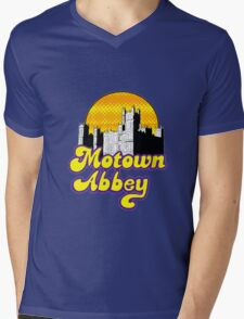 Motown Abbey Mens V-Neck T-Shirt