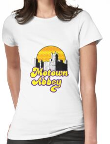 Motown Abbey Womens Fitted T-Shirt