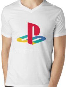 Playstation Mens V-Neck T-Shirt