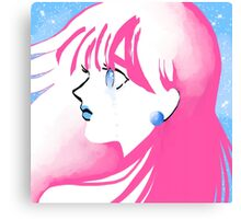 Jet Girl Canvas Print