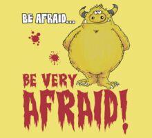 Be afraid Simon One Piece - Short Sleeve