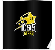 CSS Stars Poster