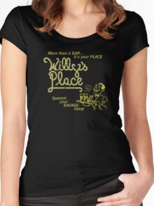 Willy's Place Women's Fitted Scoop T-Shirt