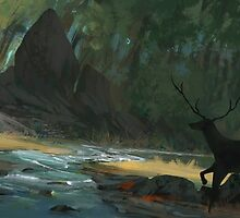 Forest Meeting by Tom Lopez