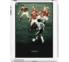 diego maradona iPad Case/Skin