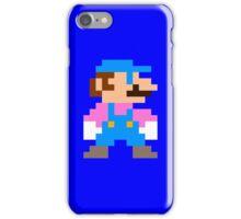 Mario (Blue) iPhone Case/Skin