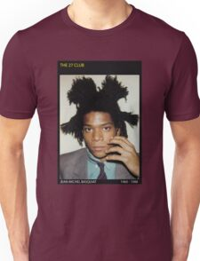 BASQUIAT-THE 27 CLUB Unisex T-Shirt