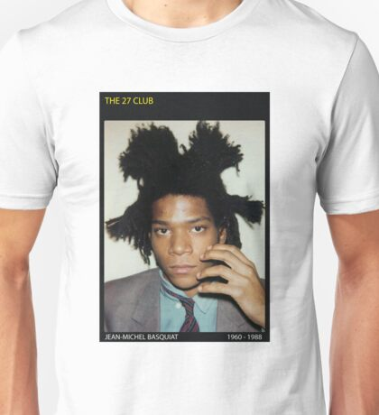 BASQUIAT-THE 27 CLUB Unisex T-Shirt