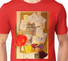 Being 65--bulletin board Unisex T-Shirt