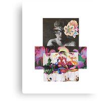 Diane Arbus Collage Canvas Print