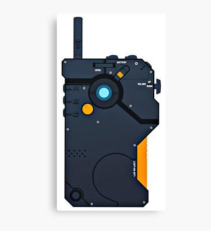 iDroid - Metal Gear Solid V Canvas Print