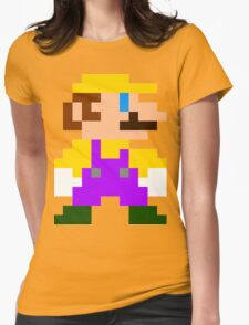 Mario (Wario) Womens Fitted T-Shirt