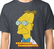 Professor Frinksworth - Futurama/The Simpsons Crossover Parody Classic T-Shirt