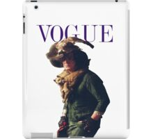 Snape's Vogue cover iPad Case/Skin