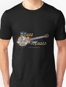 Blues Music Unisex T-Shirt