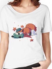Sleepy Fox Women's Relaxed Fit T-Shirt
