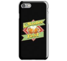 Oktoberfest beer festival iPhone Case/Skin
