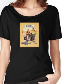 vintage motorcycle Women's Relaxed Fit T-Shirt