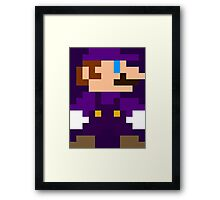 Mario/Luigi (Waluigi) Framed Print