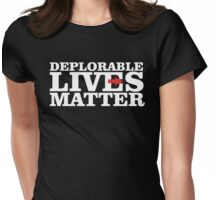 DEPLORABLE Womens Fitted T-Shirt