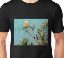 Bottlebrush, Byron Bay, NSW, Australia. Unisex T-Shirt