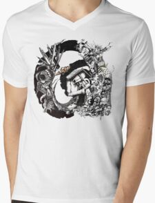 Dark Angels and insects  Mens V-Neck T-Shirt
