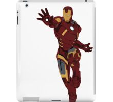 Iron Man - block colours iPad Case/Skin