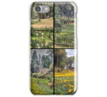 Daffodil Hill Panel 2x2 iPhone Case/Skin