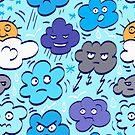 Rain clouds by Losenko  Mila