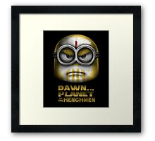 Dawn of the Planet of the Henchmen Framed Print