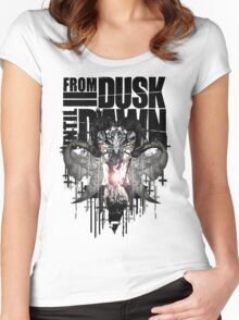 From Dusk Until Dawn Women's Fitted Scoop T-Shirt