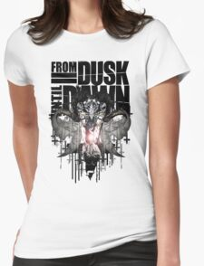 From Dusk Until Dawn Womens Fitted T-Shirt